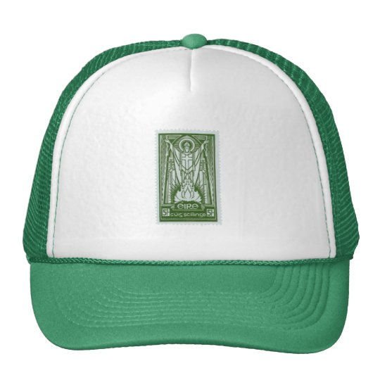 St. Patrick Irish Postage Stamp Trucker Hat