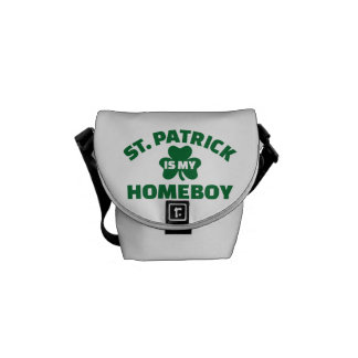 St. Patrick is my homeboy Messenger Bags