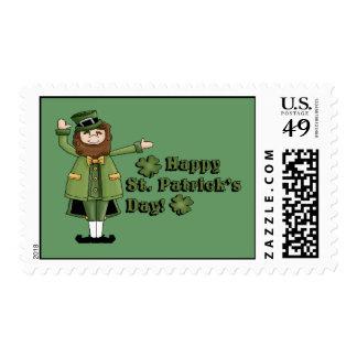 St Patrick le desea un día feliz de las palmaditas Franqueo