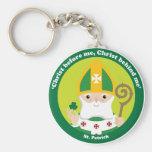 St Patrick Llaveros Personalizados