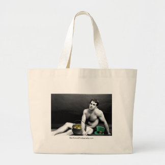 St. Patrick Man 3 Jumbo Tote Bag