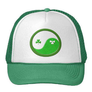 St Patrick Meets Taoism Hats