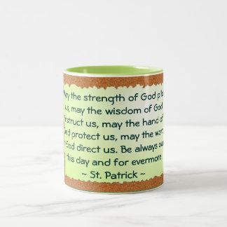 St Patrick mug