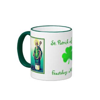 St. Patrick of Ireland Mugs