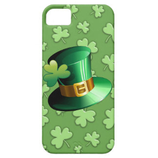 St Patrick Paddy Hat and Shamrock iPhone 5 Case