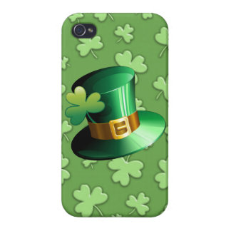 St Patrick Paddy iPhone 4 Glossy Case
