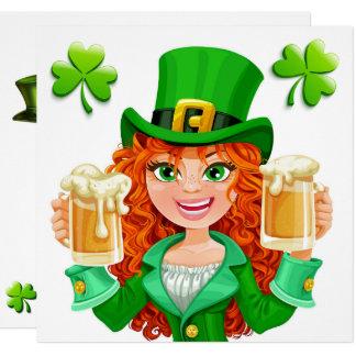St. Patrick Party Invitation