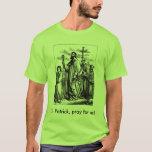 St Patrick, patrón de la camisa de Irlanda
