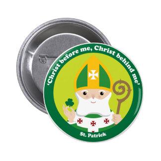St. Patrick Pinback Button