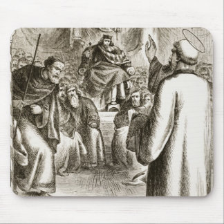 St Patrick que predica en Tara, 'del Trias Thu Tapete De Ratón