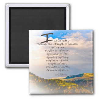 St Patrick Quote Magnet