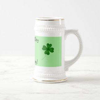St Patrick s day birthday 4 leaf clover Coffee Mug