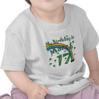 St Patrick s Day Birthday Tee Shirts