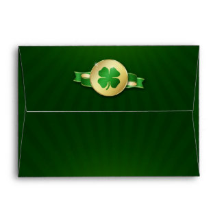 St. Patrick´s Day Coin - Envelope A7