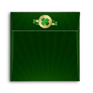 St. Patrick´s Day Coin - Envelope Square