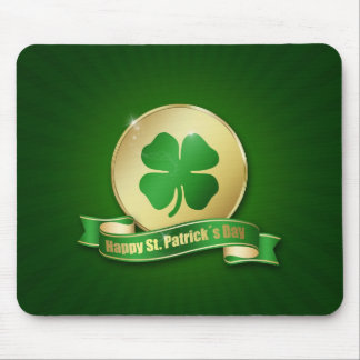 St. Patrick´s Day Coin - Mousepad