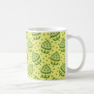 St Patrick's Day Cupcake Pattern Coffee Mug