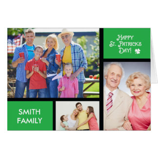 St. Patrick ' s Day Customized with Personalize Na Card