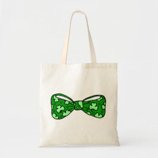 St. Patrick's Day Green Bow Tie Bag