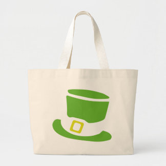 st. patrick´s day hat large tote bag