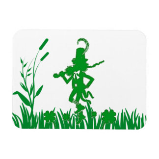 St. Patrick's Day Leprechaun Flexible Magnet