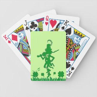 St. Patrick's Day Leprechaun Playing Cards