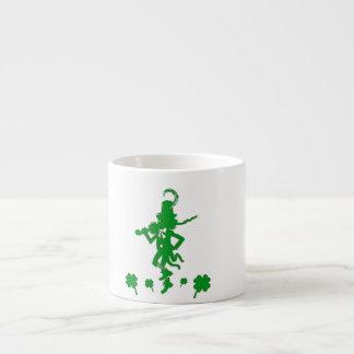 St. Patrick's Day Leprechaun Shamrock  Espresso Mu Espresso Cup