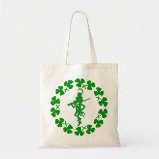 St. Patrick's Day Leprechaun Shamrock Ring  Bag