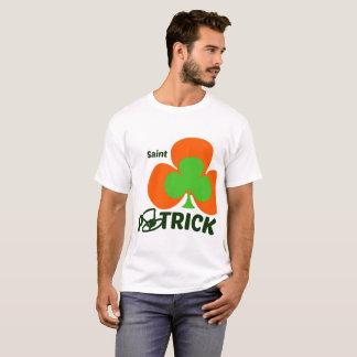 St - Patrick' S Day men tshirt - 0range and Green