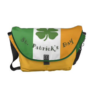 St Patrick's Day Messenger Bag