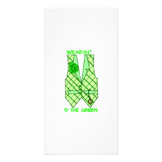 St Patrick s Day Personalized Photo Card