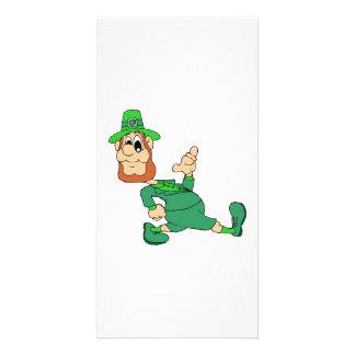 St Patrick s Day Custom Photo Card