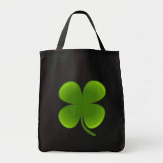St Patrick s Day Samrock 4 Leaf Clover tote Tote Bags