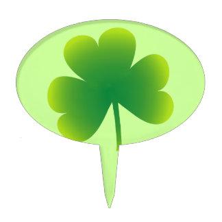 St Patrick s Day Shamrock Cake Toppers
