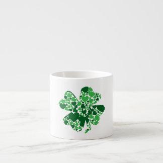 St. Patrick's Day Shamrock Clover Espresso Mug