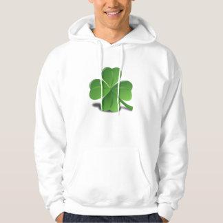 St. Patrick's Day Shamrock Clover Hoodie Shirt