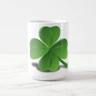 St. Patrick's Day Shamrock Clover Mug