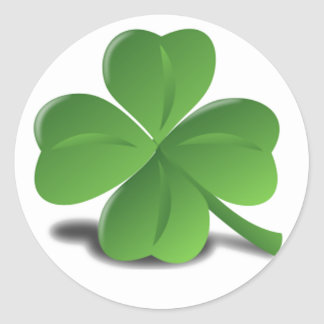 St. Patrick's Day Shamrock Clover Sticker