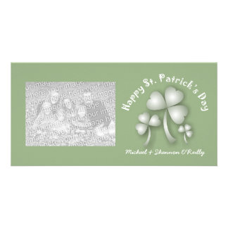 St Patrick s Day Shamrocks Photo Cards