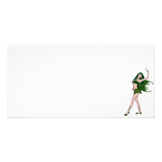 St Patrick s Day Sprite 4 - Green Fairy Photo Card Template