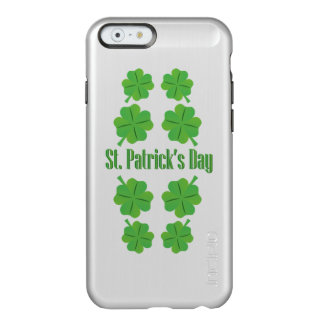 St. Patrick's Day with clover Incipio Feather Shine iPhone 6 Case