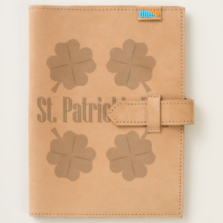St. Patrick's Day with clover Journal