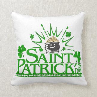 St. Patrick's Gold Pot Pillow