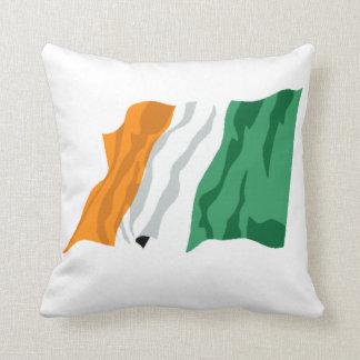 St. Patrick's Ireland Flag Pillow