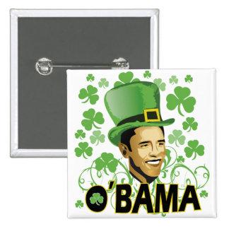 St Patrick s O Bama 2009 Buttons