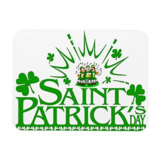St. Patrick's Singing Leprechauns Flexible Magnet