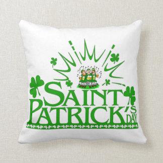 St. Patrick's Singing Leprechauns Pillow