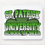 St. Patrick School of Beer Mousepad