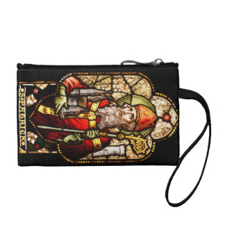 St Patrick Stained Glass Coin Purse