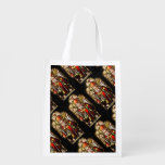St Patrick Stained Glass Grocery Bags